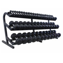 3 tier 15 pair dumbbells rack