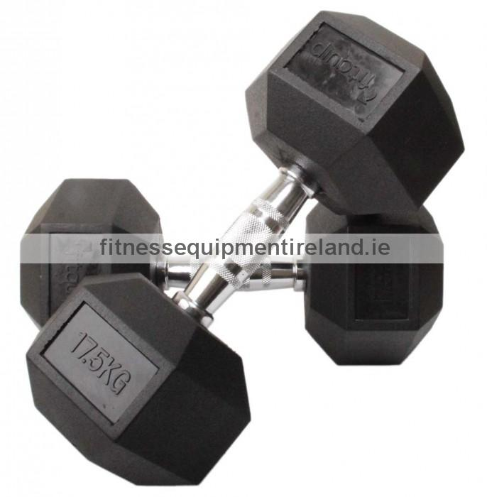 hex dumbbells (sold in pairs) fitness equipment ireland best forhome free weights