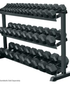 3 tier 10 pair dumbbells rack