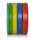 coloured bumper plates fitness equipment ireland