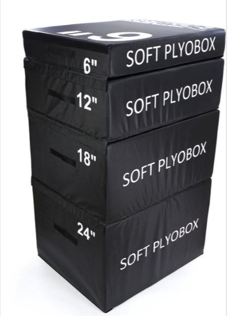 Stackable Plyometric boxes