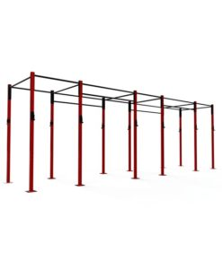 3 Bay Free Standing Rig 6 Stations Fitness Equipment