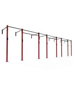 4 bay wall mounted rig