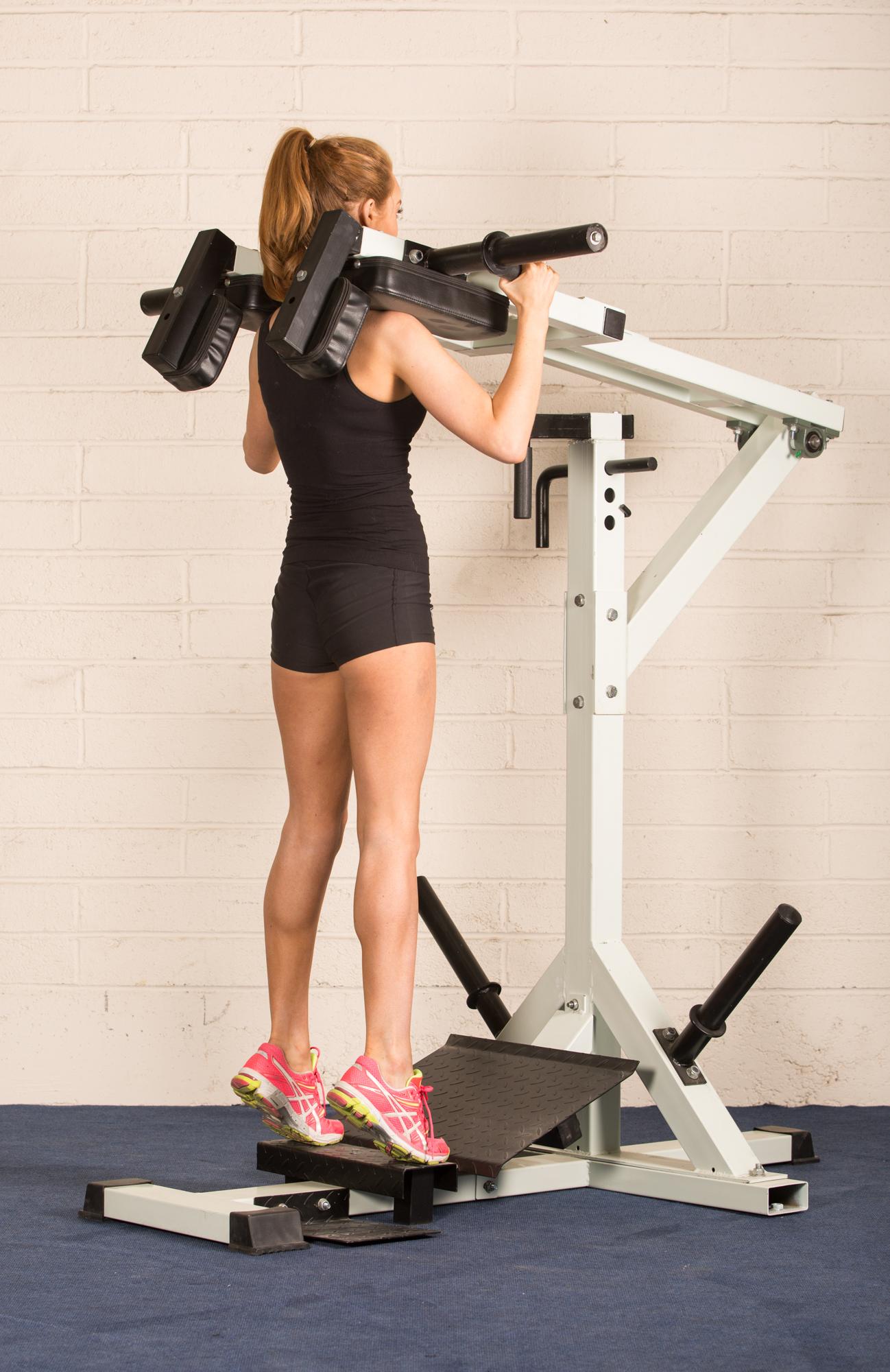 Pendulum squat and calf block fitness equipment ireland