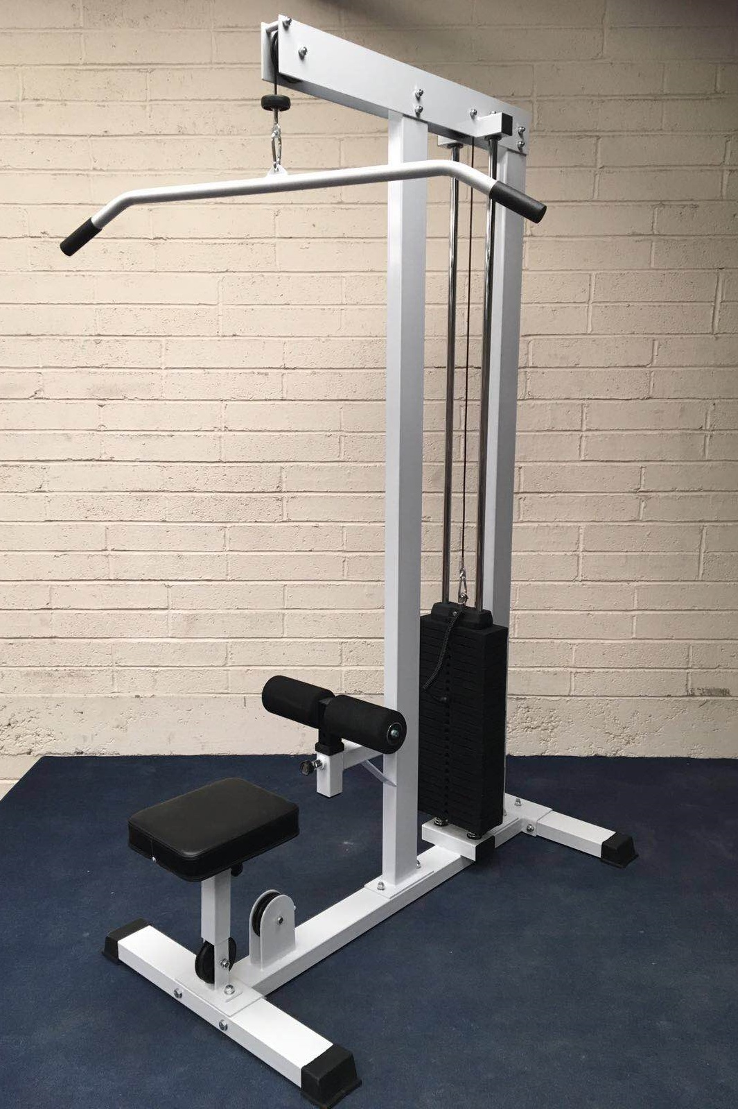 Lat Pulldown And Low Row Machine Fitness Equipment