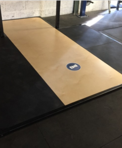Custom Weightlifting platform