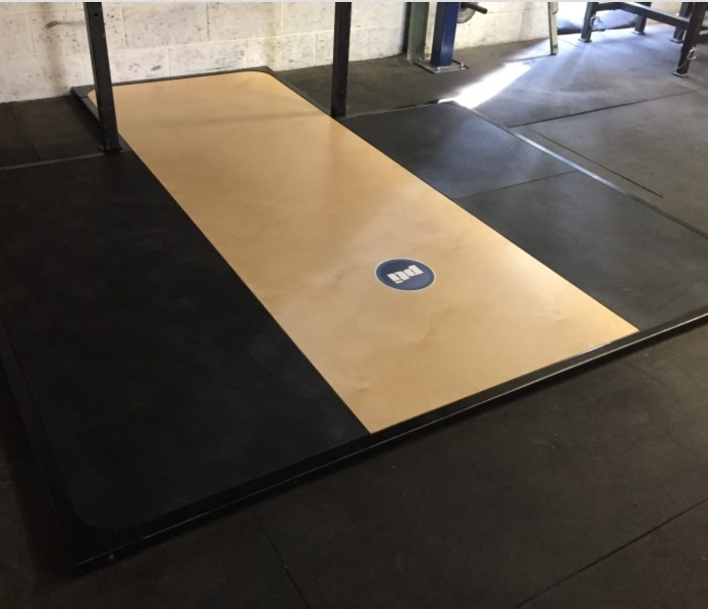 Custom Weightlifting Platform Fitness Equipment Ireland