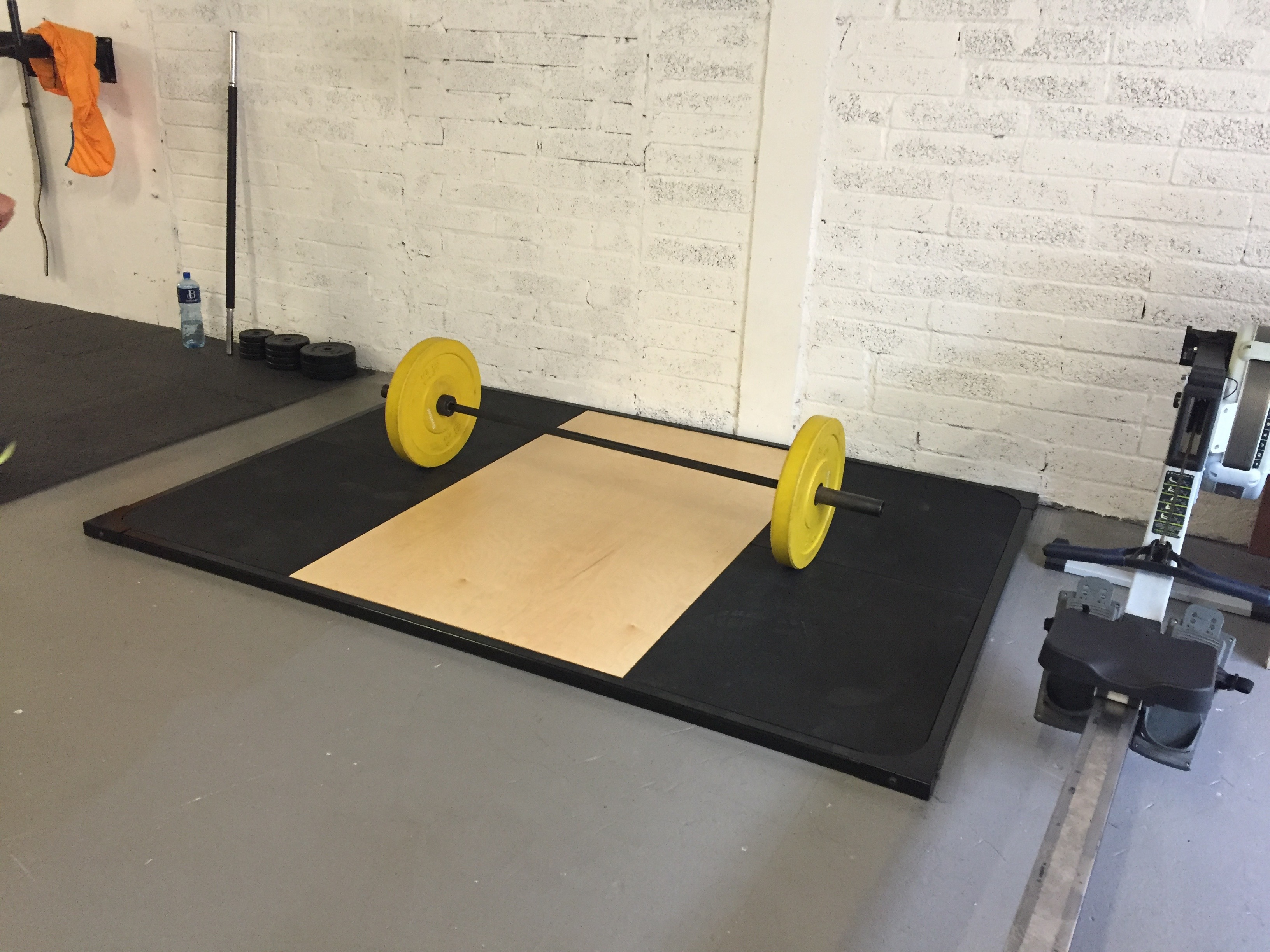 The Mighty Mix: How to build an Olympic weightlifting platform