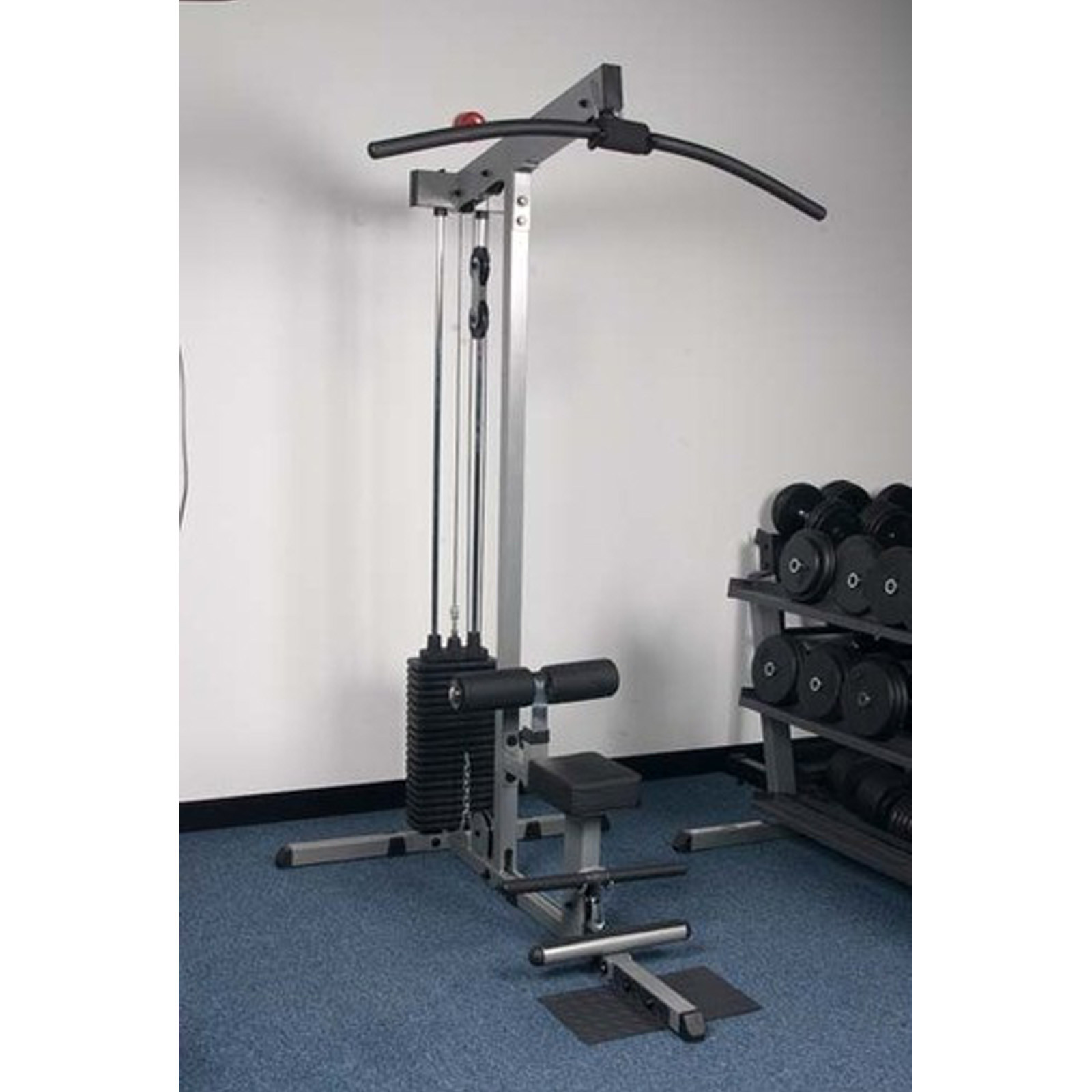 Bodysolid Lat Pulldown Amp Low Row 100kg Stack Fitness