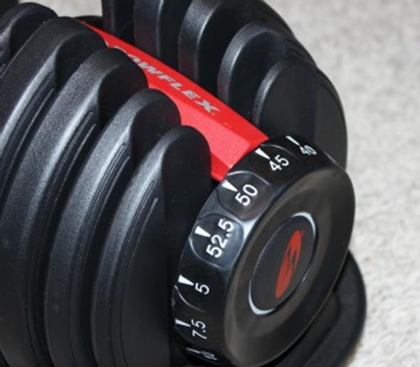 Bowflex 1090 Adjustable Dumbbells Fitness Equipment