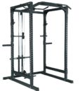 semi commercial powerrack with latpull down redesign