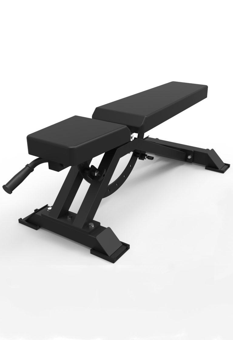 Full Commercial Adjustable Bench Fitness Equipment