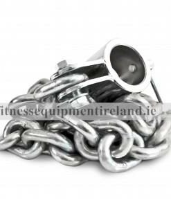 Olympic chrome chains and steel collars