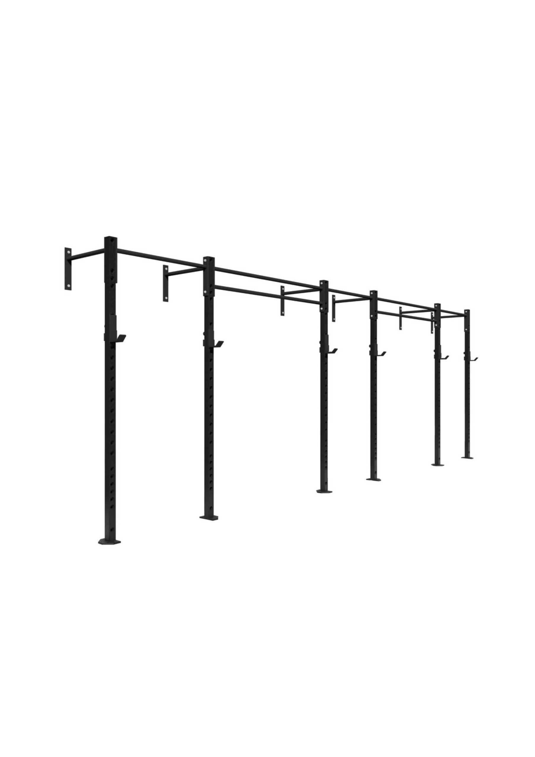 3 bay wall mounted rig