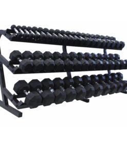 Three Tier Dumbbell Rack (15 Pairs)