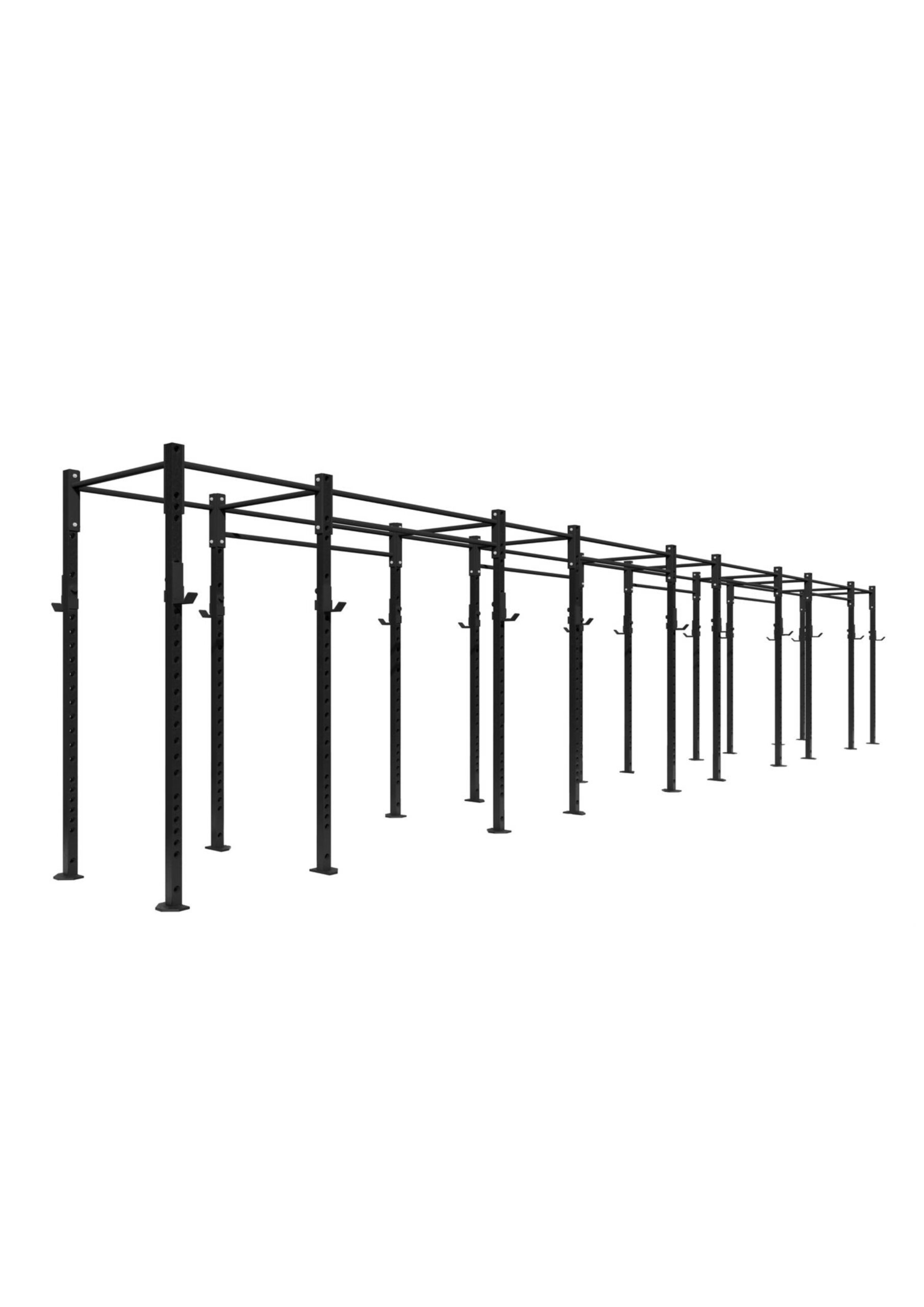 5 bay free standing rig 10 stations