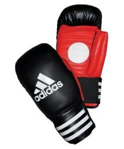Adidas Boxing Coach Spar Gloves-Black/Red