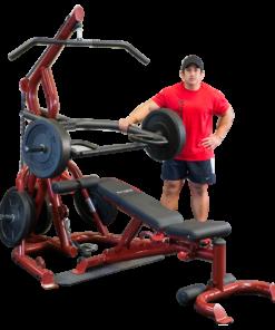 BodySolid Corner Leverage Gym & Bench