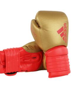 Adidas Hybrid 300 Boxing Glove-Gold