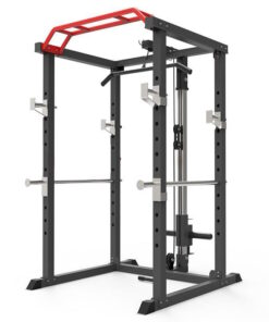 Home Power Rack With Pulley