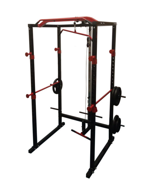 Home Power Rack with Lat Pull Down and Low Row