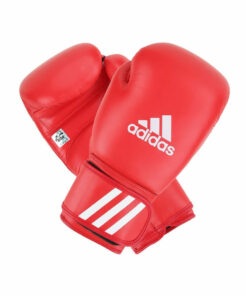 Adidas AIBA Licensed Boxing Gloves White & Red