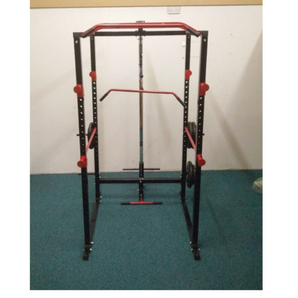 Power Rack (with Lat-Pull Down/ Lo-Row Pulley & Weight Storage)