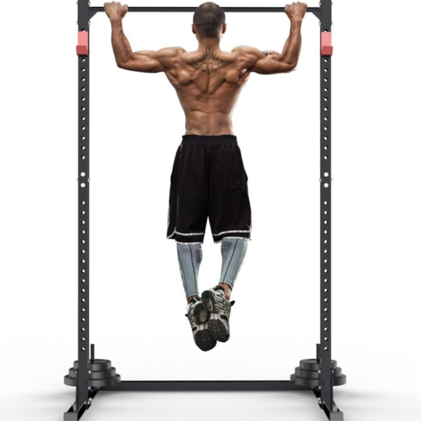 Adjustable Squat Stand with Pull Up Bar