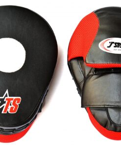 : T-Sport Curved Focus Mits-Black/Red