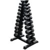 Triangle Stand with 1-10kg Dumbbells