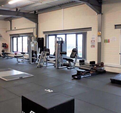 15mm Rubber Gym Flooring