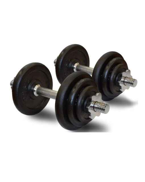 20kg adjustable dumbbells