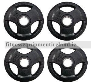 Trigrip Olympic Plates (Rubber Coated)