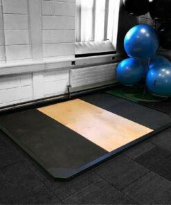 weightlifting platform