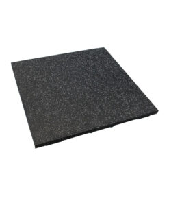 Easy Clean 20mm Black Flooring with Off White Fleck