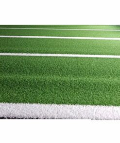 Bolt Strength Premium Turf with Lines | 2m x 25m (Green)