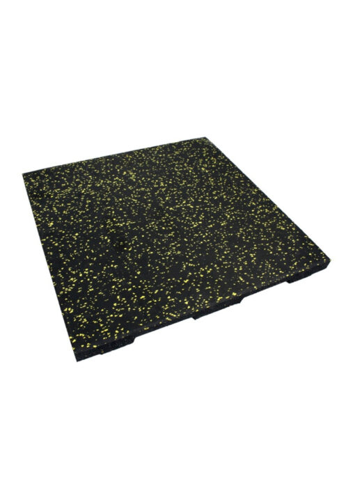 Easy Clean 20mm Black Flooring with Yellow Fleck