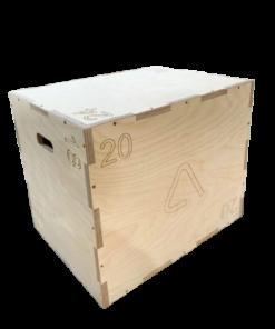 Wooden plyo box