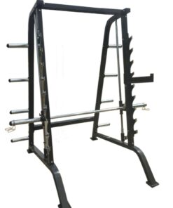 Commercial Smith Machine and Half Rack Package