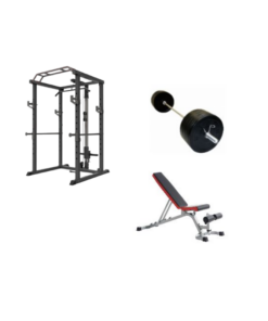Home Gym Package with Lat Pulldown Rack