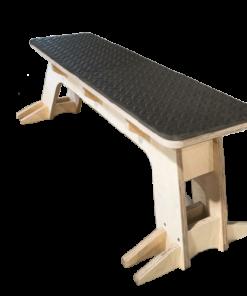Custom Made Wooden Flat Bench