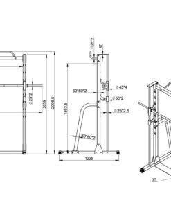 Semi Comm Smith Machine