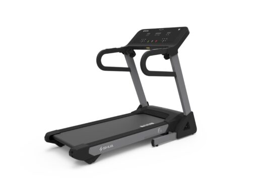 Treadmill with monitor
