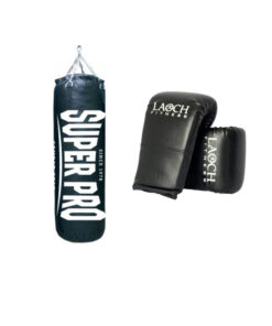 punch bag and boxing glove deal
