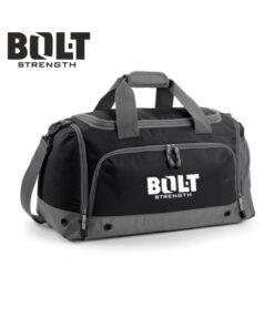 Black Grey Gear Bag