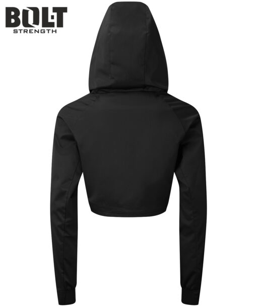 Black crop jumper